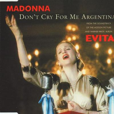 Madonna don t cry for me argentina maxi cd occasion