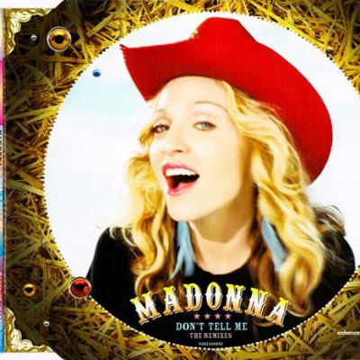 Madonna don t tell me the remixes maxi cd occasion