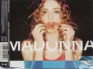 Madonna drowned world substitute for love maxi cd occasion