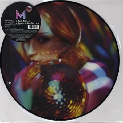 Madonna maxi 45t get together picture disc