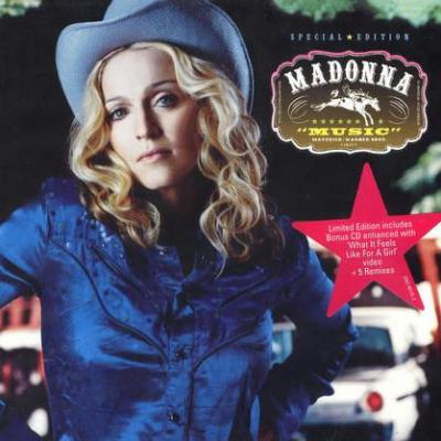 Madonna music cd occasion limited edition