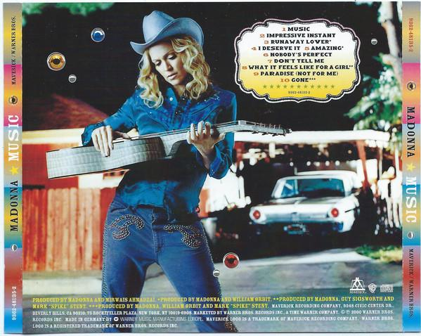 Madonna music cd occasion limited edition 1