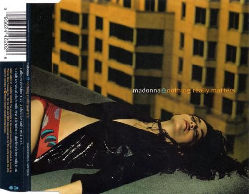 Madonna nothing really matters maxi cd occasion 1