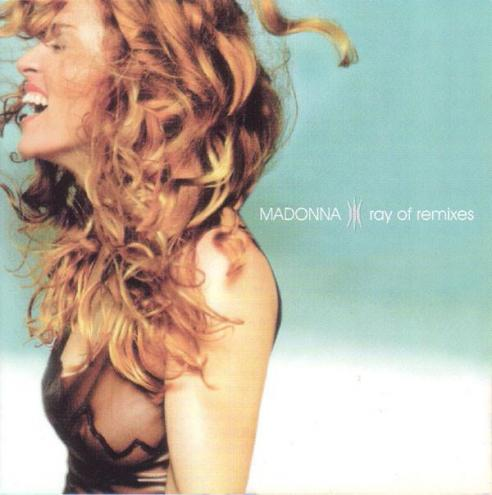 Madonna ray of remixes cd occasion rare