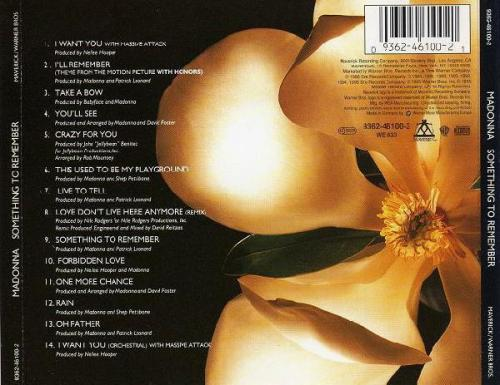 Madonna something to remember cd occasion 1