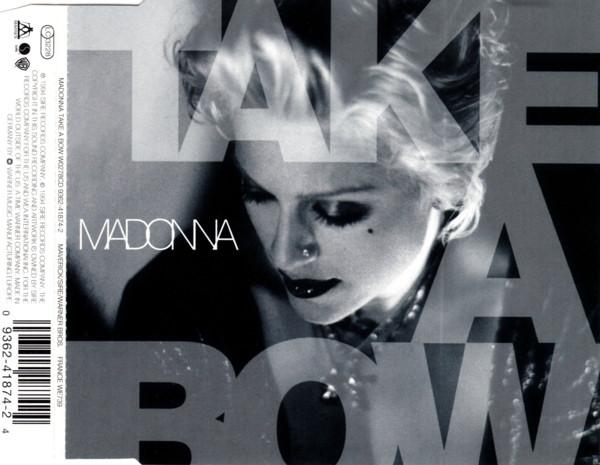 Madonna take a bow maxi cd occasion