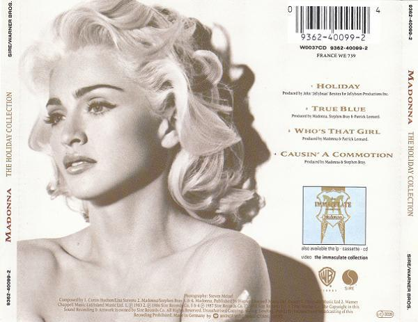 Madonna the holiday collection maxi cd occasi 1on rare