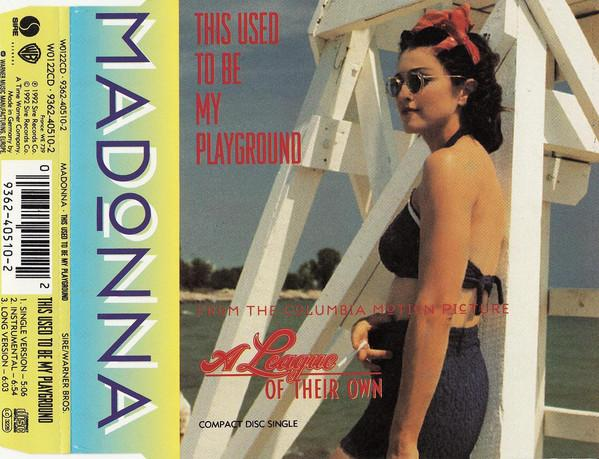 Madonna this used to be my playground maxi cd occasion