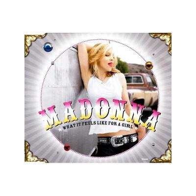 Madonna what it feels like for a girl maxi cd occasion 2 titres