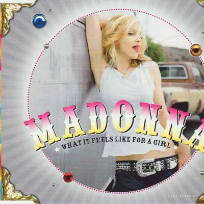 Madonna what it feels like for a girl maxi cd occasion 3 titres