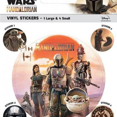 Mandalorian legacy stickers en vinyle