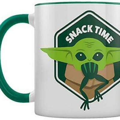 Mandalorian snack time mug interieur colore 315ml