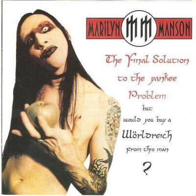 Marilyn manson album cd the final solution to the yankee problem