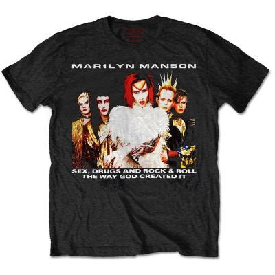 Marilyn manson t shirt rwc rock is dead 1999