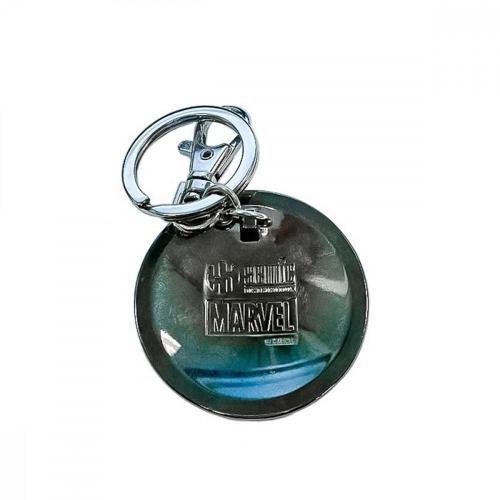 Marvel 3d metal keychain blister box spider man logo 1
