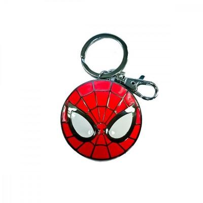 Marvel 3d metal keychain blister box spider man logo