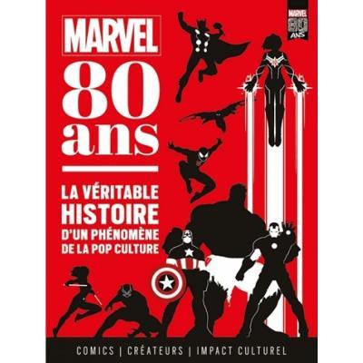 Marvel 80 ans la veritable histoire d un phenomene de la pop culture