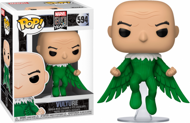 Marvel 80th bobble head pop n 594 first appearance vulture