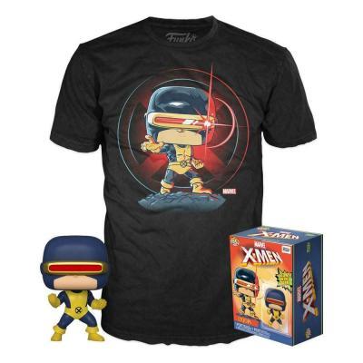 Marvel 80th pop n 502 cyclops gitd se t shirt s