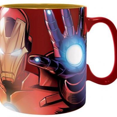 Marvel armored avenger mug effet metal 460 ml
