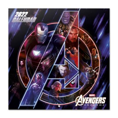 Marvel avengers calendrier 2022 30x30cm