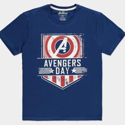 Marvel avengers day t shirt homme