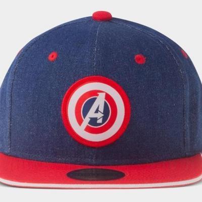 Marvel avengers denim casquette