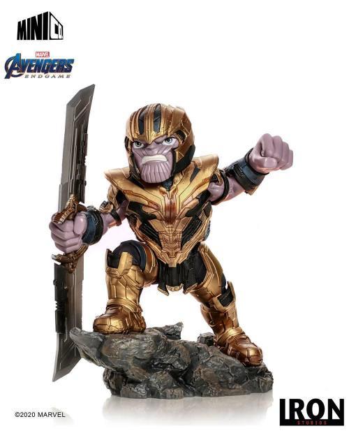 Marvel avengers endgame thanos figurine mini co 20cm