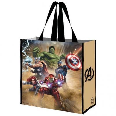 Marvel avengers sac a courses reutilisable 40x36x20cm