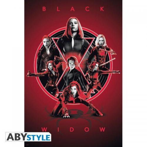 Marvel black widow legacy poster 91x61cm