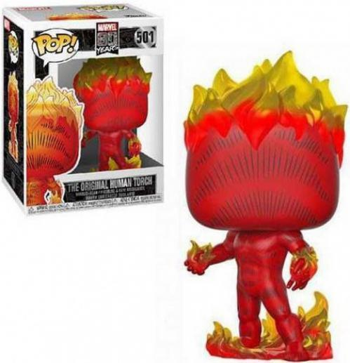 Marvel bobble head pop n 501 first appearance human torch