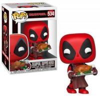 Marvel bobble head pop n 534 holiday deadpool 1