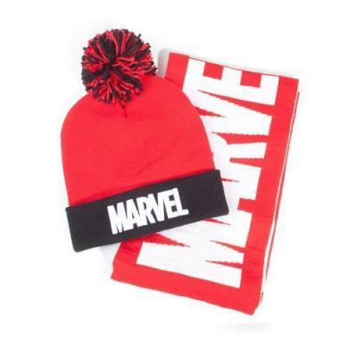 Marvel bonnet echarpe