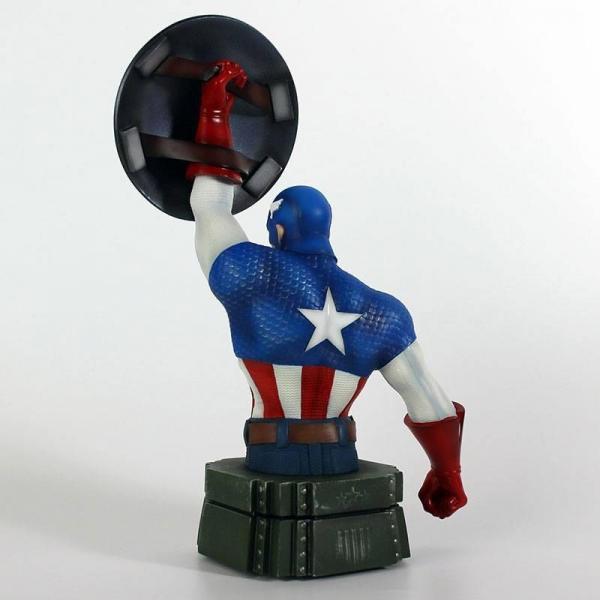 Marvel buste captain america 26cm 2