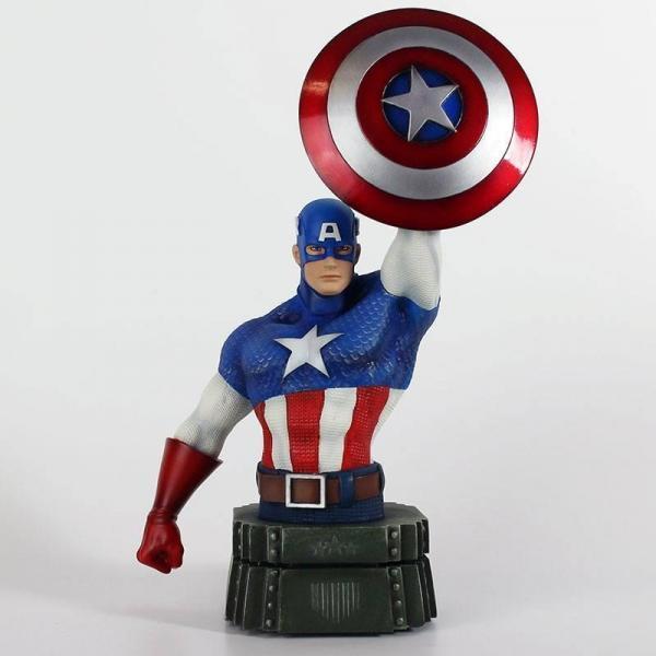 Marvel buste captain america 26cm