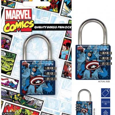 Marvel cadenas avec code captain america