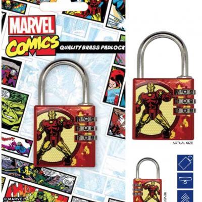 Marvel cadenas avec code iron man