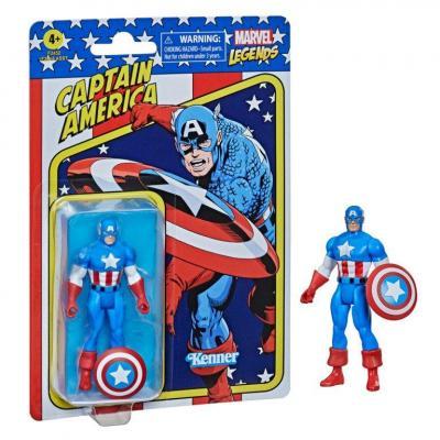Marvel captain america figurine legends retro series 10cm