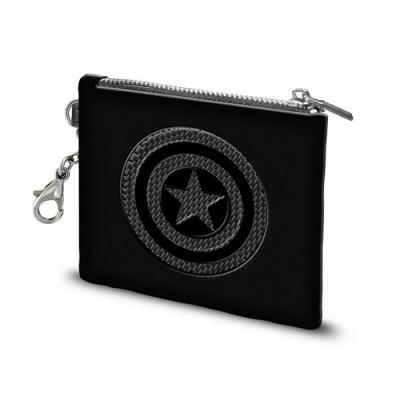 Marvel captain america porte cartes 10 5x8 5x0 5cm