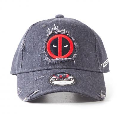 Marvel casquette deadpool ripped