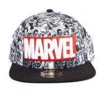 Marvel casquette snapback classic logo rouge blanc 2
