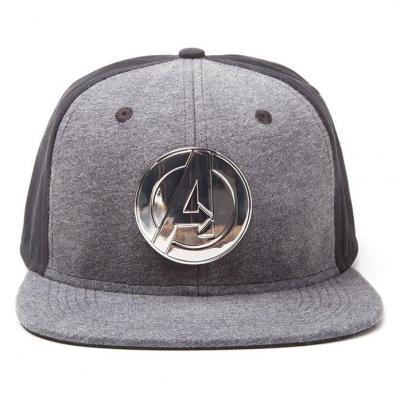 Marvel casquette snapback logo avengers metal