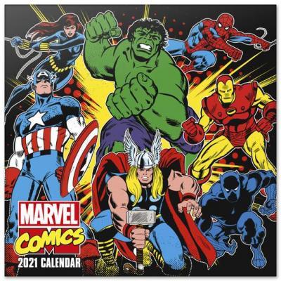Marvel comics calendrier 2021 30x30cm