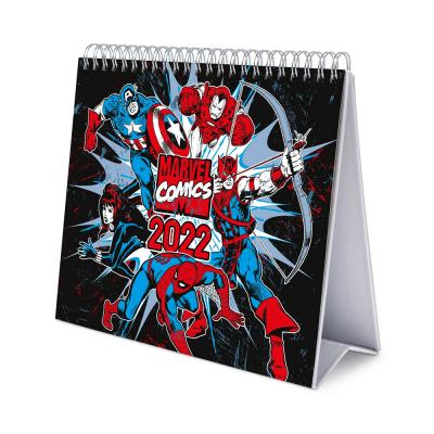 Marvel comics calendrier de bureau 2022 17x20cm
