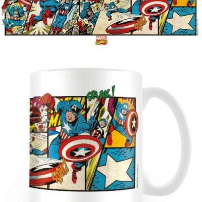 Marvel comics captain america mug 300ml