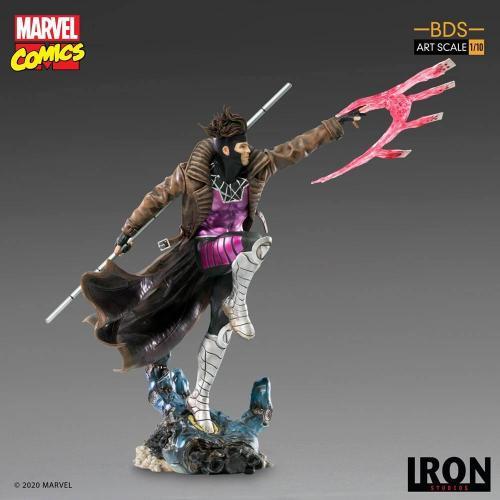 Marvel comics gambit statuette bds art scale 26cm 1