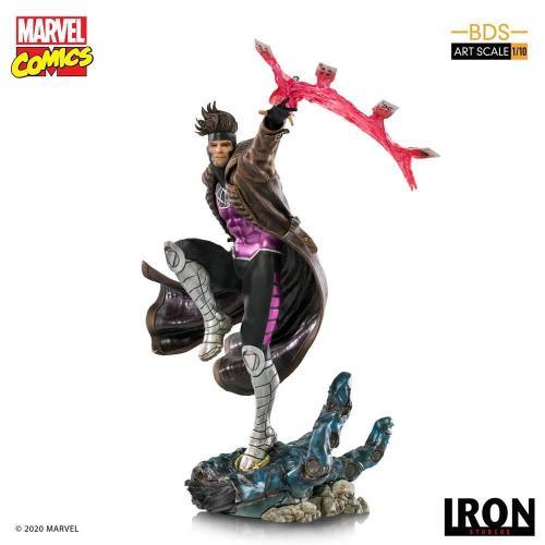 Marvel comics gambit statuette bds art scale 26cm