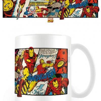 Marvel comics iron man mug 300ml
