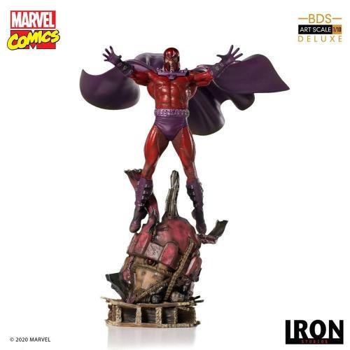 Marvel comics magneto statuette bds art scale 31cm