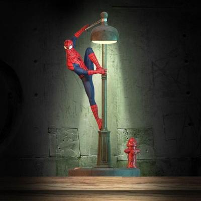 Marvel comics spider man lampe decorative 34cm